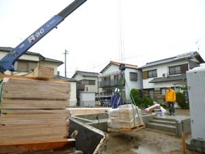 20160613材木搬入