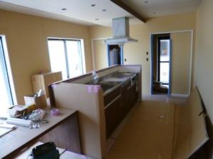20160810キッチン設置